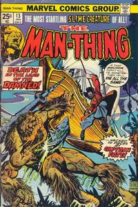 Cover Thumbnail for Man-Thing (Marvel, 1974 series) #13 [Regular Edition]