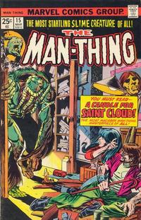 Cover Thumbnail for Man-Thing (Marvel, 1974 series) #15