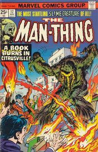 Cover Thumbnail for Man-Thing (Marvel, 1974 series) #17 [Regular]