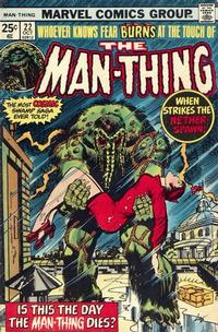 Cover Thumbnail for Man-Thing (Marvel, 1974 series) #22 [Regular Edition]