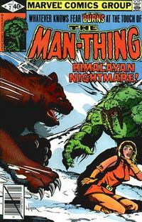 Cover Thumbnail for Man-Thing (Marvel, 1979 series) #2 [Direct]