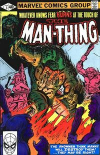 Cover Thumbnail for Man-Thing (Marvel, 1979 series) #3 [Direct]