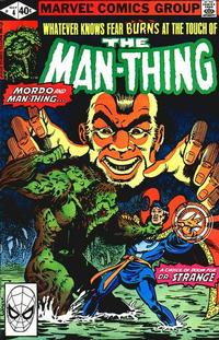 Cover Thumbnail for Man-Thing (Marvel, 1979 series) #4 [Direct]