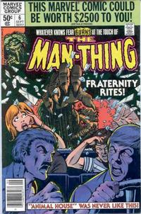 Cover Thumbnail for Man-Thing (Marvel, 1979 series) #6 [Newsstand]