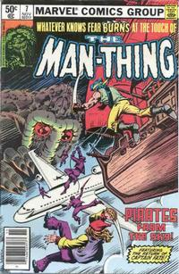 Cover Thumbnail for Man-Thing (Marvel, 1979 series) #7 [Newsstand]