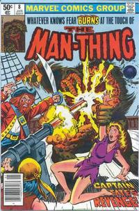 Cover Thumbnail for Man-Thing (Marvel, 1979 series) #8 [Newsstand]