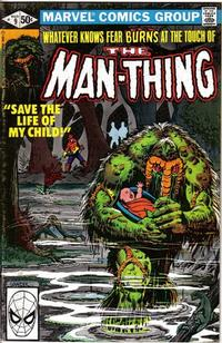 Cover Thumbnail for Man-Thing (Marvel, 1979 series) #9 [Direct]