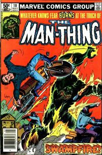Cover Thumbnail for Man-Thing (Marvel, 1979 series) #10 [Newsstand]