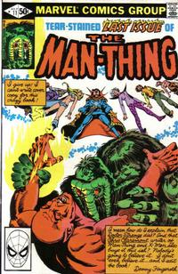 Cover Thumbnail for Man-Thing (Marvel, 1979 series) #11 [Direct]