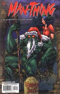 Cover for Man-Thing (Marvel, 1997 series) #3
