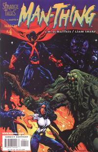 Cover Thumbnail for Man-Thing (Marvel, 1997 series) #4