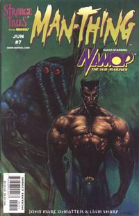 Cover for Man-Thing (Marvel, 1997 series) #7