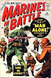 Cover Thumbnail for Marines in Battle (Marvel, 1954 series) #22