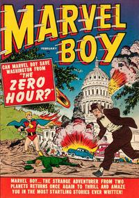 Cover Thumbnail for Marvel Boy (Marvel, 1950 series) #2