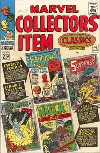 Cover Thumbnail for Marvel Collectors' Item Classics (Marvel, 1965 series) #4