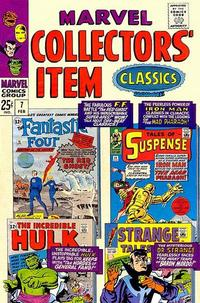 Cover Thumbnail for Marvel Collectors' Item Classics (Marvel, 1965 series) #7