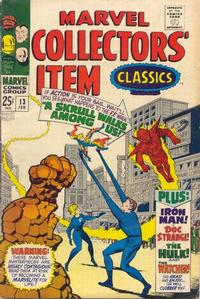 Cover Thumbnail for Marvel Collectors' Item Classics (Marvel, 1965 series) #13