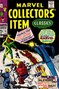 Cover Thumbnail for Marvel Collectors' Item Classics (Marvel, 1965 series) #14