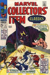 Cover Thumbnail for Marvel Collectors' Item Classics (Marvel, 1965 series) #15