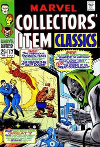 Cover Thumbnail for Marvel Collectors' Item Classics (Marvel, 1965 series) #17