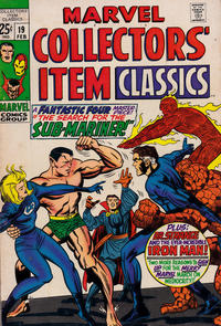 Cover Thumbnail for Marvel Collectors' Item Classics (Marvel, 1965 series) #19