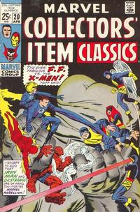 Cover Thumbnail for Marvel Collectors' Item Classics (Marvel, 1965 series) #20