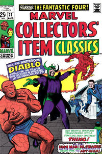 Cover Thumbnail for Marvel Collectors' Item Classics (Marvel, 1965 series) #22