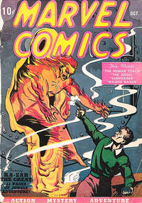 Cover Thumbnail for Marvel Comics (Marvel, 1939 series) #1 [First Printing]