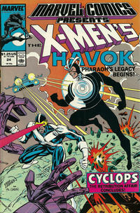 Cover Thumbnail for Marvel Comics Presents (Marvel, 1988 series) #24 [Direct]