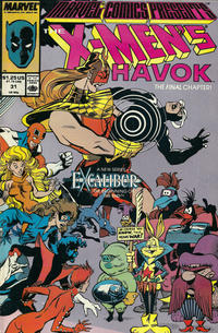 Cover Thumbnail for Marvel Comics Presents (Marvel, 1988 series) #31 [Direct]