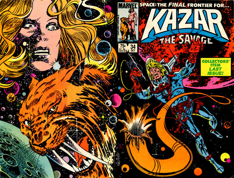 Cover for Ka-Zar the Savage (Marvel, 1981 series) #34