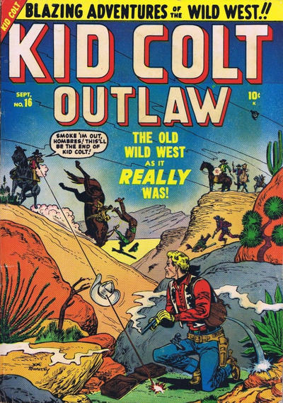 Cover for Kid Colt Outlaw (Marvel, 1949 series) #16