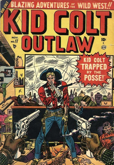 Cover for Kid Colt Outlaw (Marvel, 1949 series) #17