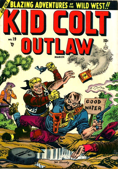 Cover for Kid Colt Outlaw (Marvel, 1949 series) #19