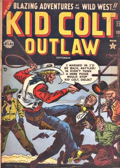 Cover for Kid Colt Outlaw (Marvel, 1949 series) #22