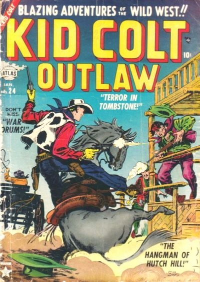 Cover for Kid Colt Outlaw (Marvel, 1949 series) #24