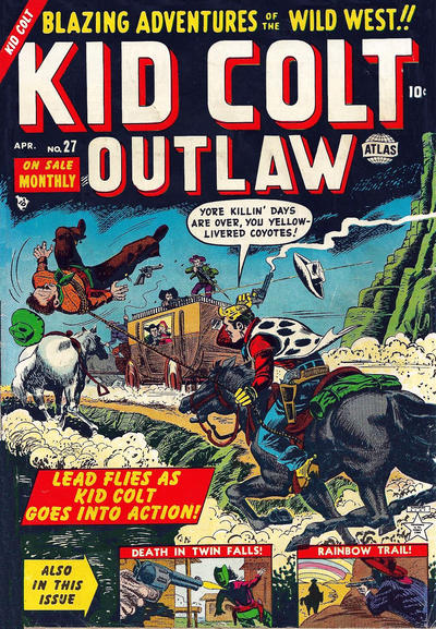 Cover for Kid Colt Outlaw (Marvel, 1949 series) #27