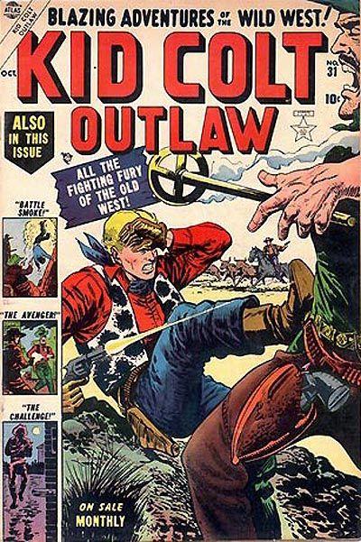Cover for Kid Colt Outlaw (Marvel, 1949 series) #31