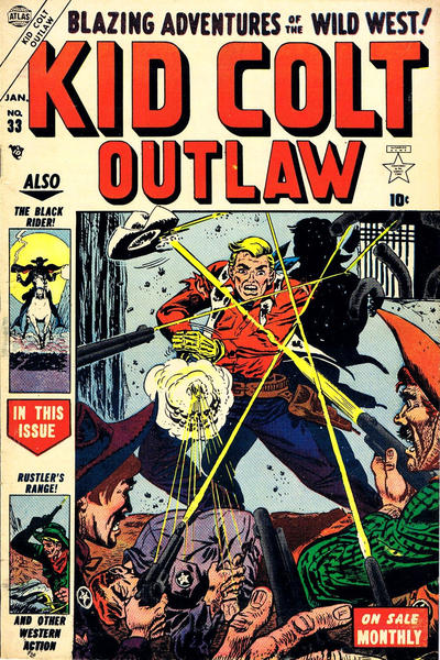 Cover for Kid Colt Outlaw (Marvel, 1949 series) #33