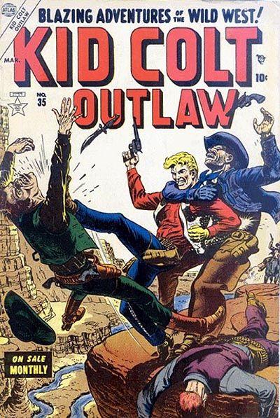 Cover for Kid Colt Outlaw (Marvel, 1949 series) #35