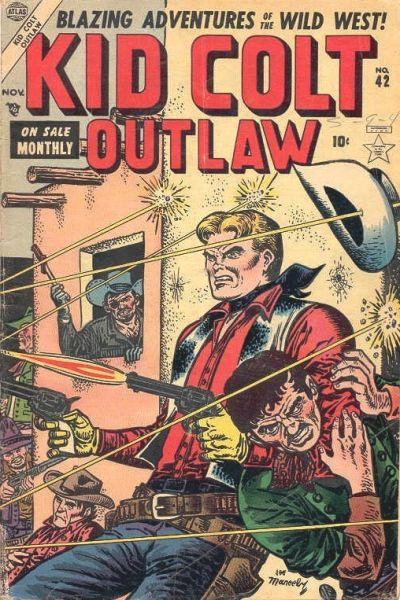 Cover for Kid Colt Outlaw (Marvel, 1949 series) #42