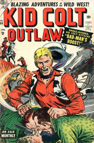 Cover for Kid Colt Outlaw (Marvel, 1949 series) #44