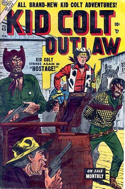 Cover for Kid Colt Outlaw (Marvel, 1949 series) #45