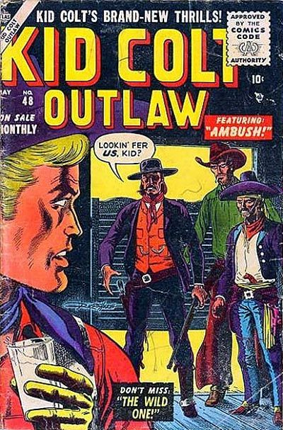 Cover for Kid Colt Outlaw (Marvel, 1949 series) #48