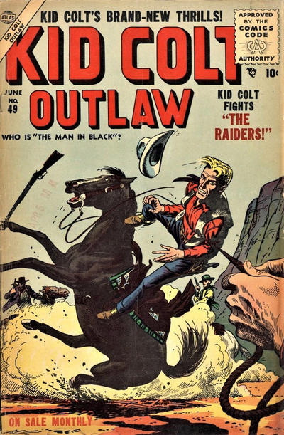 Cover for Kid Colt Outlaw (Marvel, 1949 series) #49