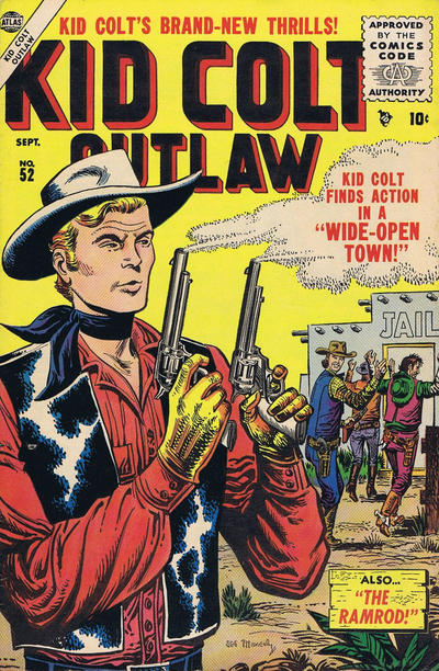Cover for Kid Colt Outlaw (Marvel, 1949 series) #52