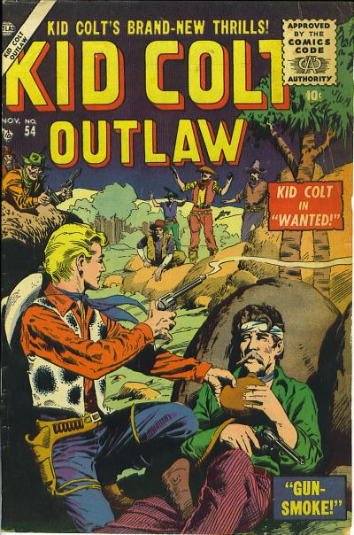 Cover for Kid Colt Outlaw (Marvel, 1949 series) #54
