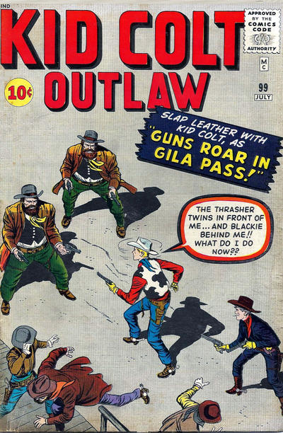 Cover for Kid Colt Outlaw (Marvel, 1949 series) #99
