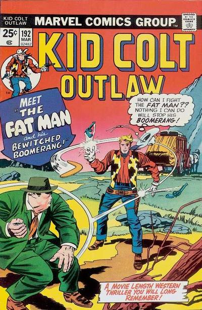 Cover for Kid Colt Outlaw (Marvel, 1949 series) #192