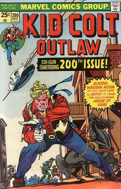 Cover for Kid Colt Outlaw (Marvel, 1949 series) #200